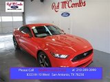 2015 Competition Orange Ford Mustang V6 Coupe #101060444