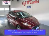 2015 Ruby Red Metallic Ford Fiesta SE Sedan #101060442