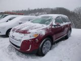 2014 Ruby Red Ford Edge Limited AWD #101060437