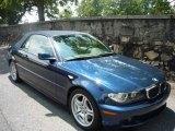 2006 Mystic Blue Metallic BMW 3 Series 330i Convertible #10095218