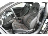 2015 Ford Mustang GT Premium Coupe Ebony Recaro Sport Seats Interior