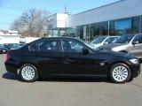 2009 Jet Black BMW 3 Series 328xi Sedan #10092553