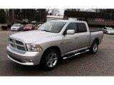 2012 Bright Silver Metallic Dodge Ram 1500 Sport Crew Cab 4x4 #101090649