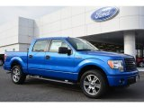 2014 Blue Flame Ford F150 STX SuperCrew #101090506