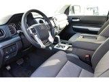 2015 Toyota Tundra SR5 Double Cab 4x4 Graphite Interior