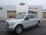 2015 Ingot Silver Metallic Ford F150 XL SuperCrew 4x4 #101090700