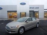 2015 Tectonic Silver Metallic Ford Fusion SE #101090693
