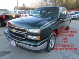 2006 Dark Green Metallic Chevrolet Silverado 1500 LS Crew Cab #101090626