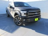 2015 Tuxedo Black Metallic Ford F150 Lariat SuperCrew 4x4 #101090560