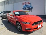 2015 Competition Orange Ford Mustang GT Coupe #101090450