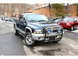 2004 Patriot Blue Pearl Dodge Dakota SLT Quad Cab 4x4 #101090242