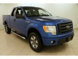 2012 Blue Flame Metallic Ford F150 STX SuperCab 4x4 #101128044