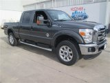 2015 Magnetic Ford F250 Super Duty Lariat Crew Cab 4x4 #101127725