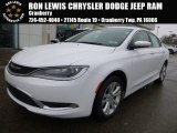 2015 Bright White Chrysler 200 Limited #101127810