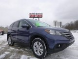2013 Twilight Blue Metallic Honda CR-V EX-L AWD #101128086