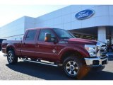 2015 Ruby Red Ford F250 Super Duty Lariat Crew Cab 4x4 #101127853