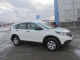 2014 White Diamond Pearl Honda CR-V LX AWD #101128074