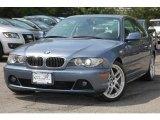 2005 Steel Blue Metallic BMW 3 Series 330i Coupe #10105629