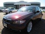 2007 Barbera Red Metallic BMW 3 Series 335xi Sedan #10106048