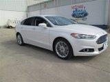 2015 White Platinum Metallic Ford Fusion SE #101164491