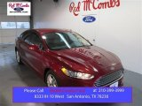 2015 Ruby Red Metallic Ford Fusion SE #101164477