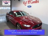 2015 Ruby Red Metallic Ford Mustang V6 Coupe #101164475