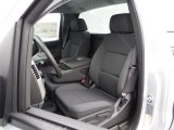 2015 Chevrolet Silverado 1500 LT Regular Cab 4x4 Jet Black Interior
