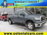2007 Slate Metallic Toyota Tundra SR5 Double Cab 4x4 #101187462