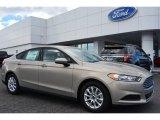 2015 Tectonic Silver Metallic Ford Fusion S #101187310