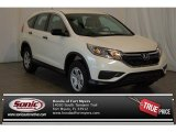 2015 White Diamond Pearl Honda CR-V LX AWD #101187215
