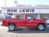 2015 Victory Red Chevrolet Silverado 1500 WT Regular Cab 4x4 #101211674