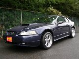 2001 True Blue Metallic Ford Mustang GT Coupe #10101439