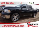 2015 Black Forest Green Pearl Ram 1500 Big Horn Crew Cab #101211720