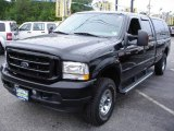 2004 Black Ford F250 Super Duty XLT Crew Cab 4x4 #10088445