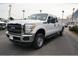 2015 Oxford White Ford F250 Super Duty XL Crew Cab 4x4 #101244445