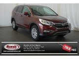 2015 Basque Red Pearl II Honda CR-V EX #101243991