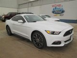 2015 Oxford White Ford Mustang EcoBoost Coupe #101286779