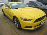 2015 Triple Yellow Tricoat Ford Mustang GT Premium Coupe #101286773