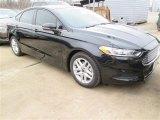 2015 Tuxedo Black Metallic Ford Fusion SE #101286771
