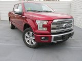 2015 Ruby Red Metallic Ford F150 Platinum SuperCrew 4x4 #101286985