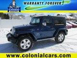 2010 Deep Water Blue Pearl Jeep Wrangler Sahara 4x4 #101287182