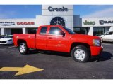 2013 Victory Red Chevrolet Silverado 1500 LT Extended Cab #101286954