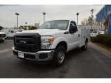 2015 Oxford White Ford F250 Super Duty XL Regular Cab Utility #101287100