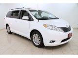 2012 Blizzard White Pearl Toyota Sienna XLE #101323125