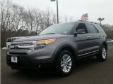 2014 Sterling Gray Ford Explorer XLT 4WD #101322338