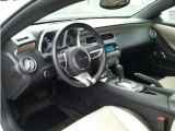 2010 Chevrolet Camaro LT Coupe Beige Interior