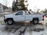 2015 Summit White Chevrolet Silverado 1500 WT Regular Cab #101322477