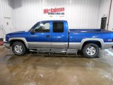 2003 Arrival Blue Metallic Chevrolet Silverado 1500 LS Extended Cab 4x4 #101323411