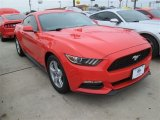 2015 Competition Orange Ford Mustang V6 Coupe #101322572