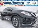2015 Magnetic Black Nissan Murano S AWD #101323182